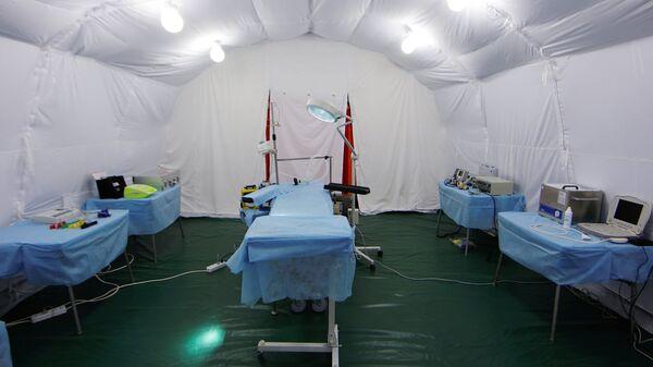 Передвижной мобильный госпиталь. Архивное фото