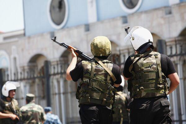 Столкновения в Киргизии