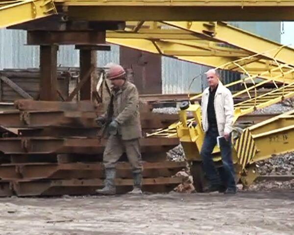 Обрушение породы на шахте Алексиевская на Кузбассе. Видео с места ЧП
