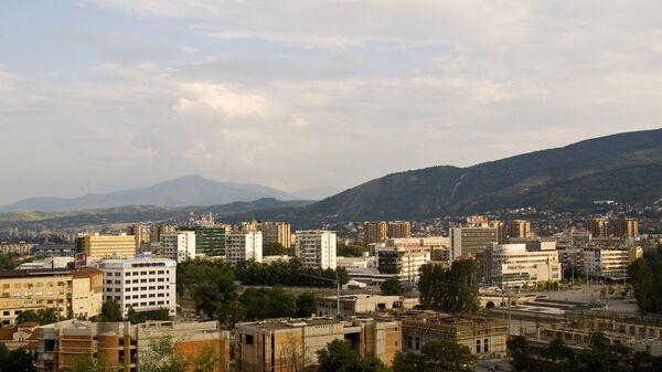 Вид на Скопье