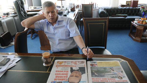 Главный редактор газеты Комсомольская правда Владимир Сунгоркин. Архивное фото