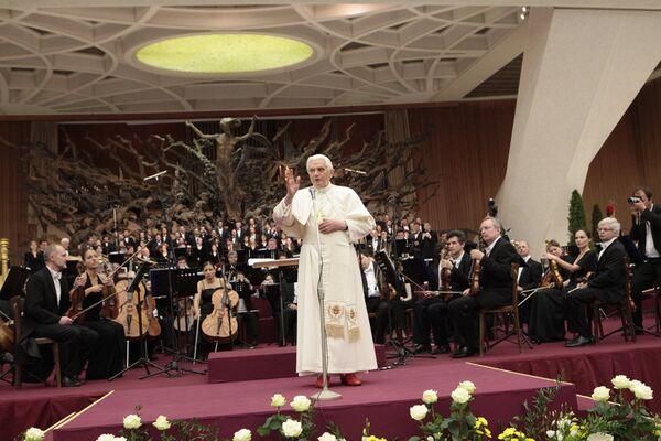 Папа Римский Бенедикт XVI. Архив