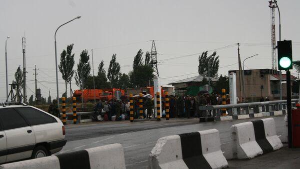 Пограничный на границе Киргизии. Архив