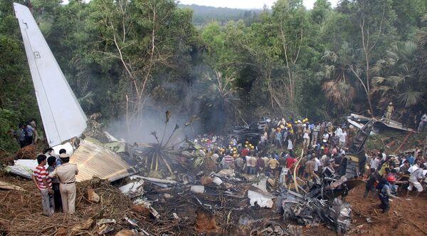 Авиакатастрофа в Индии