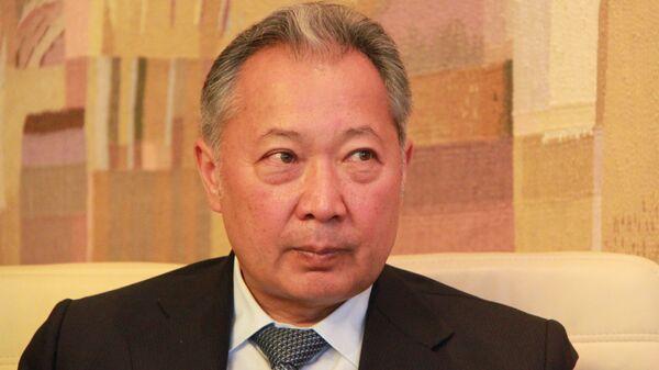 Курманбек Бакиев, бывший президент Киргизии