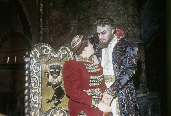 Сцена из оперы Борис Годунов
