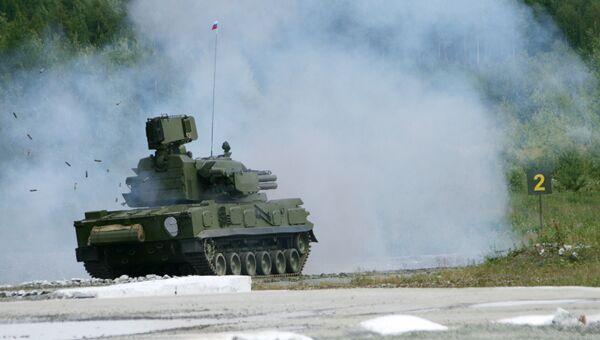 Зенитный пушечно-ракетный комплекс Тунгуска-М1
