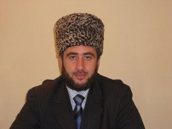 Бывший муфтий Северной Осетии Алихаджи Евтеев