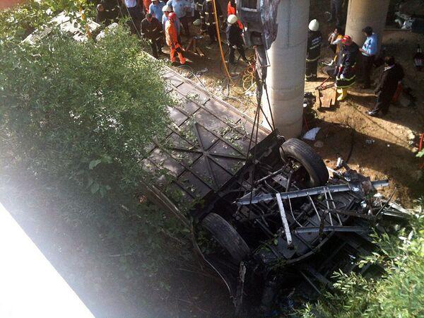 Авария автобуса с российскими туристами в Анталье 25 мая 2010