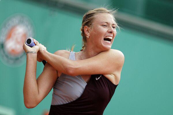 Теннис. Ролан Гаррос-2010. Мария Шарапова - Ксения Первак