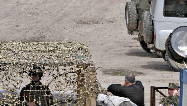 Ситуация на грузино-абхазской границе. Архив