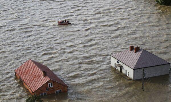Наводнение в Польше. Архив