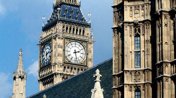 Вестминстерский дворец в Лондоне. Архив