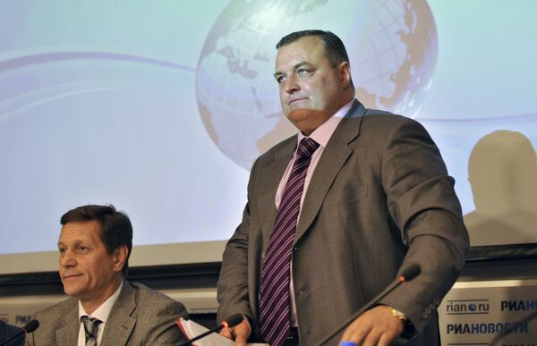 Александр Жуков и Сергей Байдаков (слева направо)