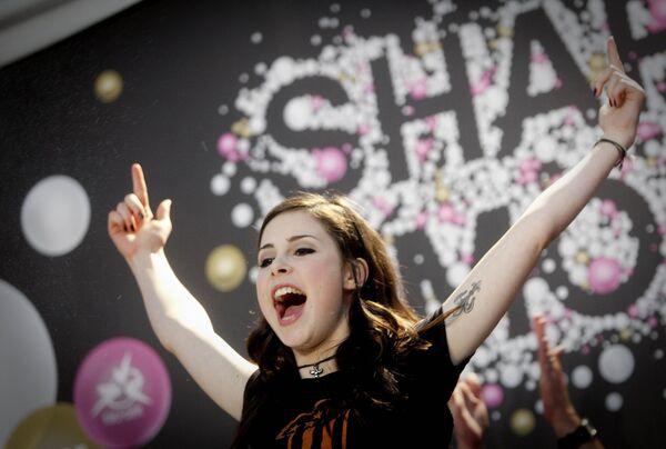 Победительница Евровидения-2010 Лена из Германии