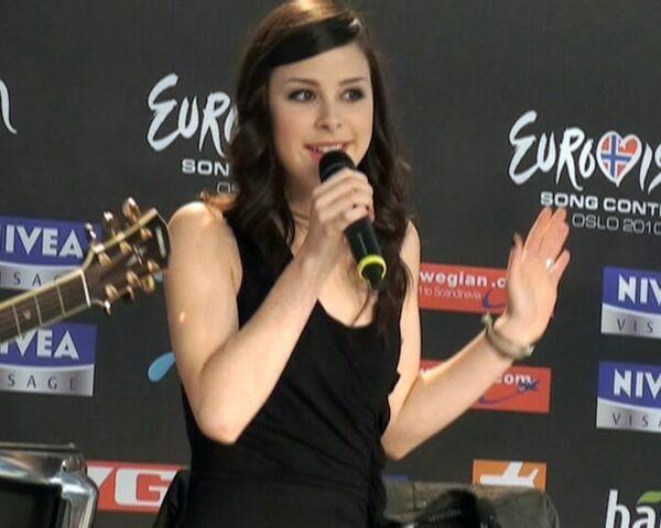 Победительница Евровидения спела в состоянии шока