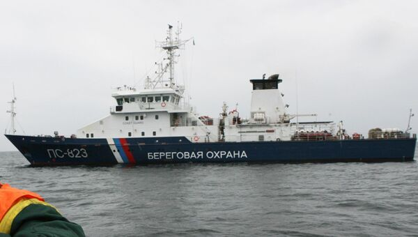 Береговая охрана города Балтийска