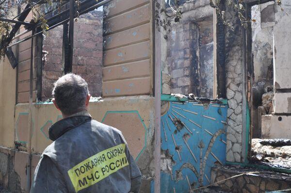 В Махачкале силовики штурмуют частный дом, в котором предположительно засели боевики