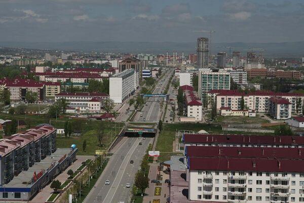 Грозный. Фотография корреспондента РИА Новости Саида Царнаева