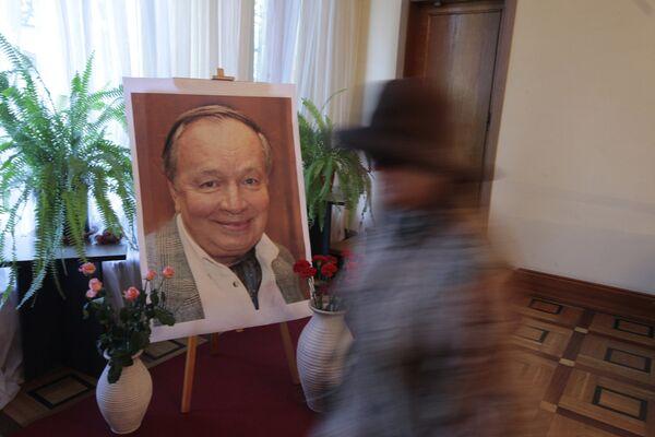 Прощание с Андреем Вознесенским