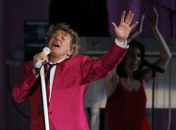 Концерт Рода Стюарта в Государственном Кремлевском дворце