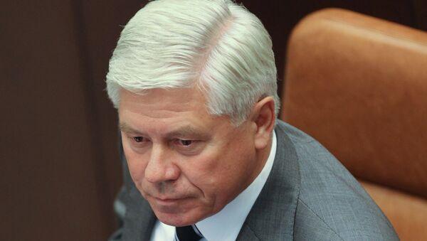 Председатель Верховного суда РФ Вячеслав Лебедев. Архив