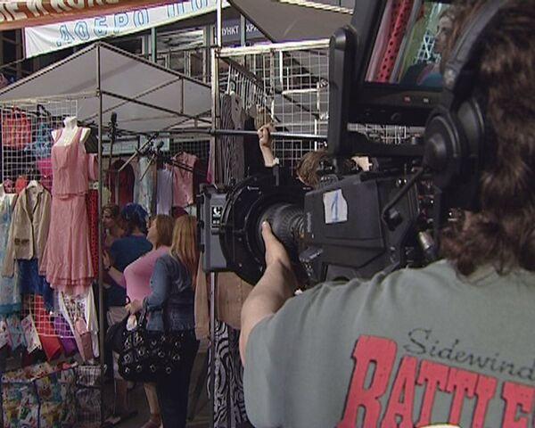 Черкизовский рынок клонировали для съемок телесериала