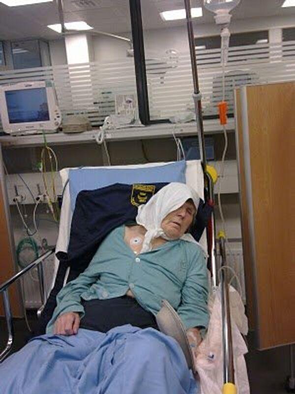 Россиянка Ирина Антонова в больнице Хаартман в Финляндии