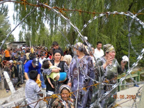 Ситуация на узбекско-киргизской границе