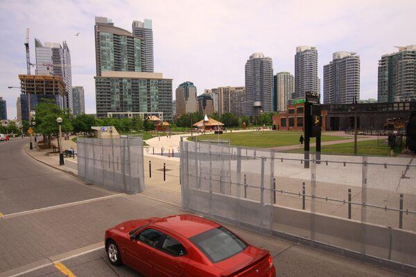 Торонто укутывается в сетку перед саммитом G20
