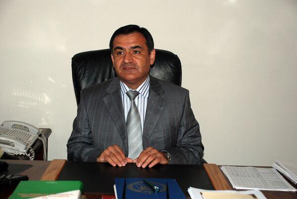 Руководитель агентства по контролю за наркотиками в Таджикистане (АКН) Рустам Назаров