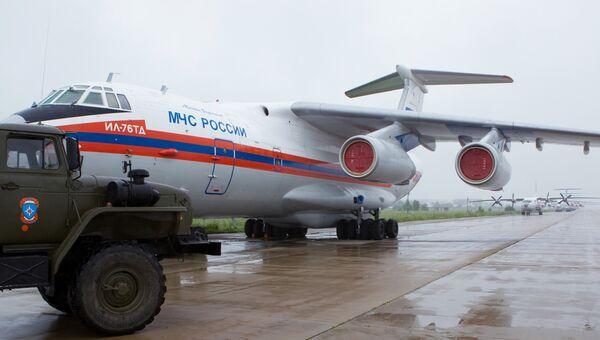 ИЛ-76 МЧС РФ. Архивное фото