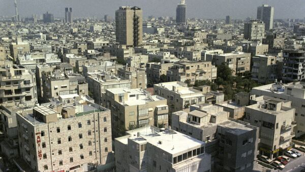 Вид на город Тель-Авив