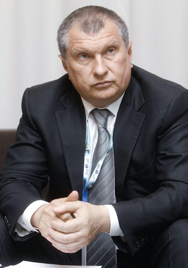 Заместитель председателя правительства РФ Игоря Сечина. Архив.