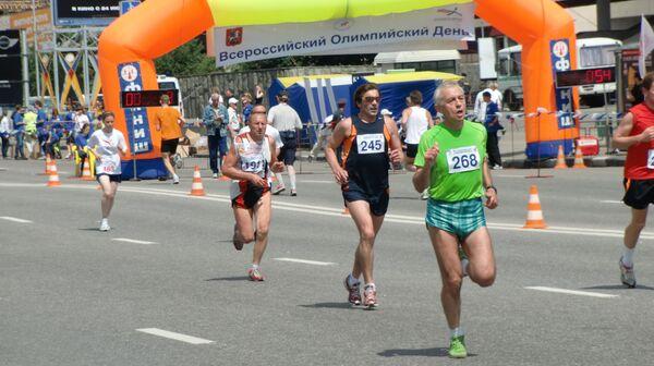 Всероссийский Олимпийский день бега 2010