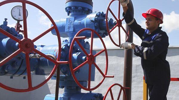 Мозырское газохранилище в Гомельской области