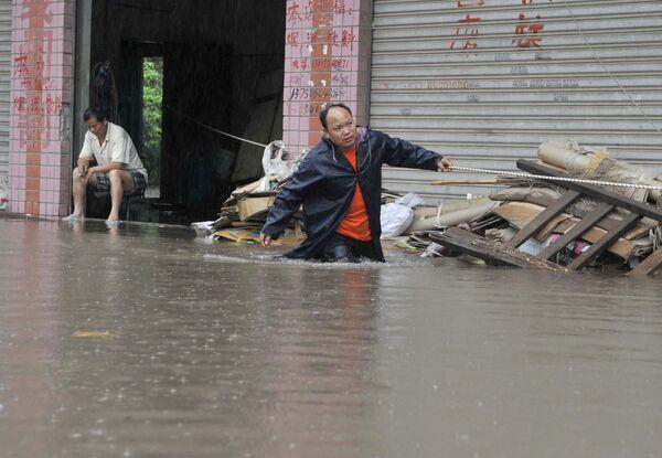 Наводнение на юге Китая