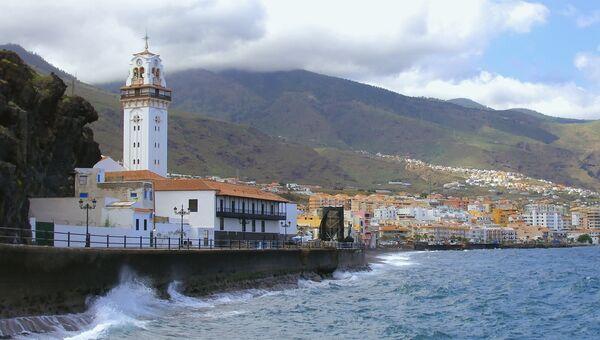Панорама прибрежного городка Канделярия. Архивное фото.