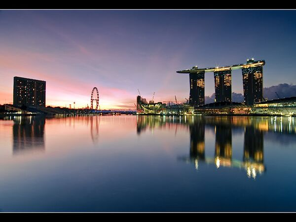 Сингапурский отель Marina Bay Sands