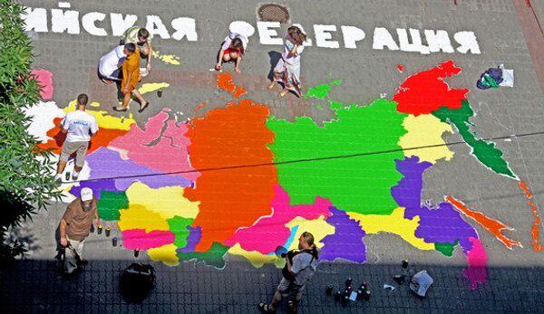 Граффити-карта России