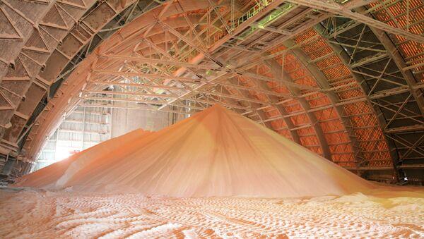 Добыча соли. Архивное фото