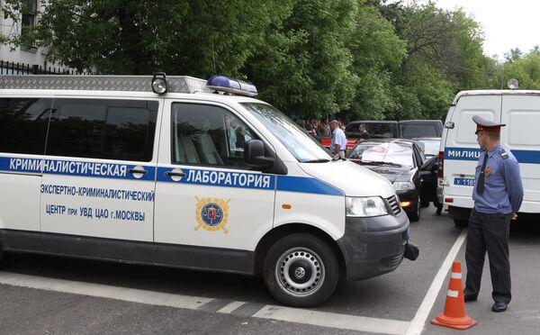 Милиция в Москве. Архив