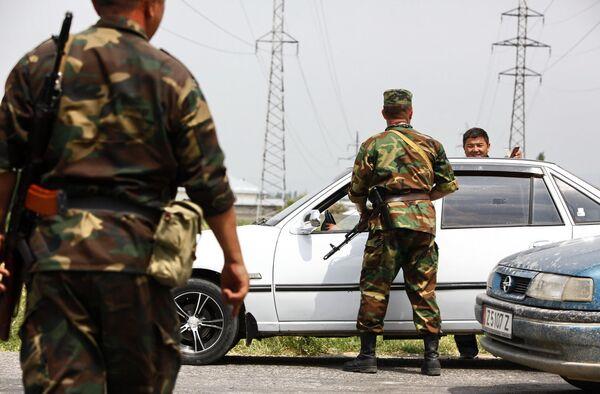 Обстановка в Киргизии