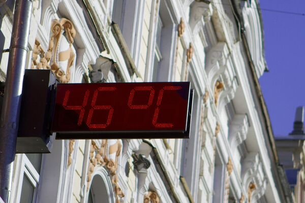 Жаркие дни в Нижнем Новгороде