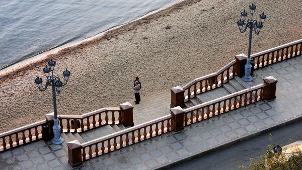 Набережная Спортивной гавани Владивостока. Архивное фото