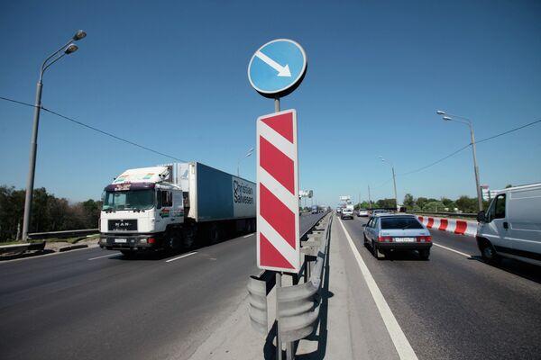 Ограничение движения автотранспорта. Архив