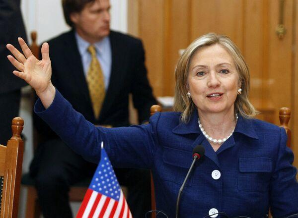 Визит Хилари Клинтон в Украину