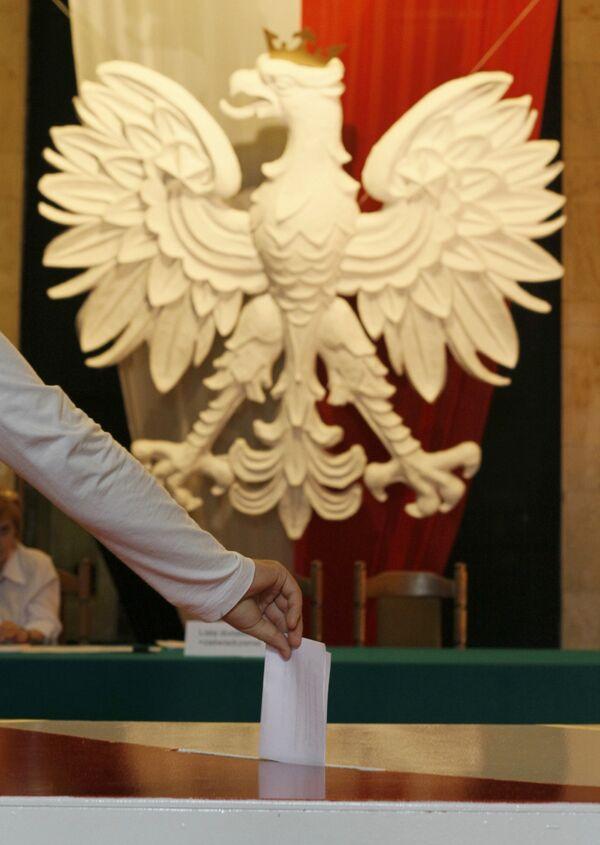 Голосование на президентских выборах в Польше