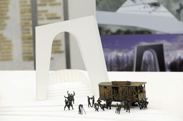 Выставка проектов аналога Мемориала славы, взорванного в Кутаиси