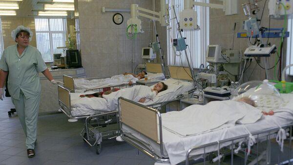 В больнице. Архив